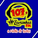 Logo da emissora Rádio Lavrinhas 107.9 FM