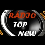 Logo da emissora Rádio Web Top New