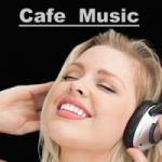Logo da emissora Rádio Café Music
