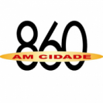 Logo da emissora Rádio Cidade 860 AM