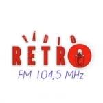 Logo da emissora Rádio Retrospectiva FM