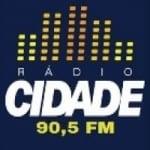 Logo da emissora Rádio Cidade 90.5 FM