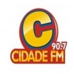 Logo da emissora Rádio Cidade 90.7 FM