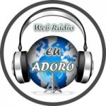 Logo da emissora Rádio Eu Adoro