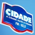 Logo da emissora Rádio Cidade 92.5 FM