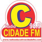 Logo da emissora Rádio Educativa Cidade FM