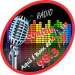 Logo da emissora Rádio Curitiba Mais FM
