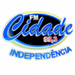 Logo da emissora Rádio Cidade 95.3 FM