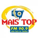 Logo da emissora Rádio Mais Top