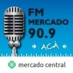 Logo da emissora Radio Mercado 90.9 FM