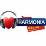 Logo da emissora Rádio Jovem Harmonia 104.9 FM