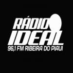 Logo da emissora Rádio Ideal FM