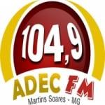 Logo da emissora Rádio Adec 104.9 FM