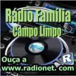 Logo da emissora Rádio Família CP Limpo