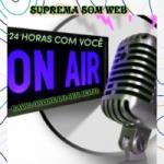 Logo da emissora Rádio Suprema Som Web