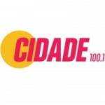 Logo da emissora Rádio Cidade 100.1 FM