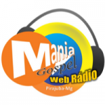 Logo da emissora Mania Gospel Web Rádio