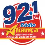 Logo da emissora Rádio Aliança 92.1 FM