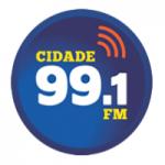 Logo da emissora Rádio Cidade 99.1 FM