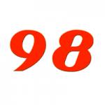 Logo da emissora Rádio FM 98