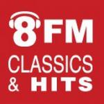 Logo da emissora Radio 8FM 89.3