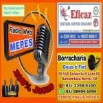 Logo da emissora Rádio Mepes