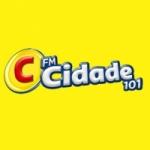 Logo da emissora Rádio Cidade 101 FM