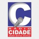 Logo da emissora Rádio Cidade 870 AM