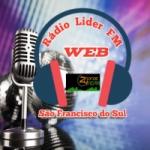 Logo da emissora Rádio Líder FM São Francisco Do Sul