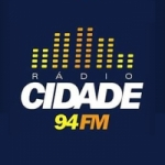 Logo da emissora Rádio Cidade 94.3 FM