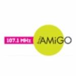 Logo da emissora Radio Amigo Sunrise 107.1 FM