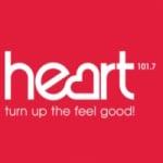 Logo da emissora Radio Heart Harlow 101.7 FM