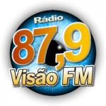 Logo da emissora Rádio Visão FM Leopoldo De Bulhões
