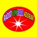 Logo da emissora Rádio Vim Para Adorar