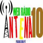 Logo da emissora Rádio WR Antena 10