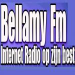 Logo da emissora Bellamy 91.6 FM