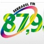 Logo da emissora Rádio Serrabel 87.9 FM