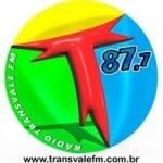 Logo da emissora Rádio Transvale 87.7 FM