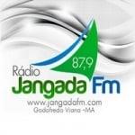 Logo da emissora Rádio Jangada 87.9 FM