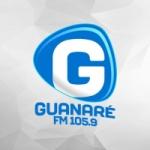 Logo da emissora Rádio Guanaré 105.9 FM