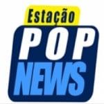 Logo da emissora Rádio Estação Pop News