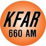 Logo da emissora KFAR 660 AM