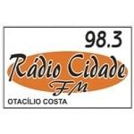 Logo da emissora Radio Cidade 98.3 FM