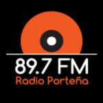 Logo da emissora Rádio Porteña 89.7 FM