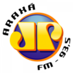 Logo da emissora Rádio Jovem Pan 93.5 FM