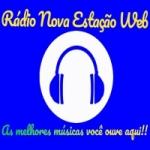 Logo da emissora Rádio Nova Estação Web