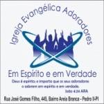 Logo da emissora Web Rádio Adoradores Em Espírito e Em Verdade De Pedro II