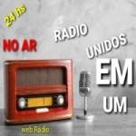 Logo da emissora Rádio Unidos Em Um