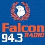 Logo da emissora Falcon 94.3 FM