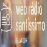 Logo da emissora Web Rádio Santíssimo Salvador